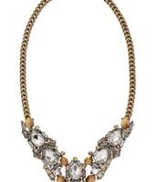 Zora Crystal Necklace $85