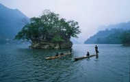 Lake Ba Be in Vietnam