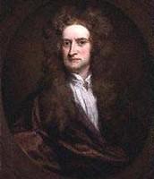 Self portrait of: Sir Isaac Newton