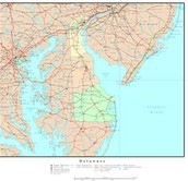 what year was the Delaware colony founded and who founded it?