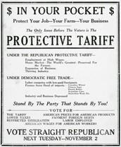 The tariff of 1832