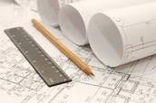 A Pencil and Blueprints