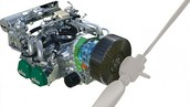 Heres a picture of the Electric engine
