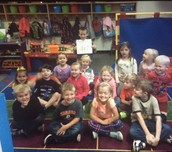 A 2nd Grade Reader came to visit!