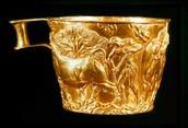 Vaphio cup (Mycenaean age cup)