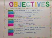 What are some advantages to writing both content and language objectives for students to hear and see?
