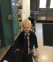 Looking dapper for 100th day!