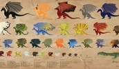 Dragon Breeds of the Temeraire series