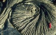 Pahoehoe lava.