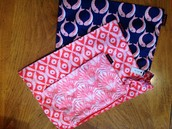set of three pouches NEW!