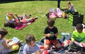 SH Primary Outdoor Reading