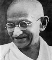 Older Mahatma Gandhi