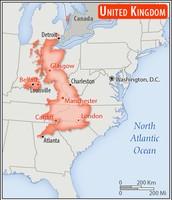 Comparison to the states