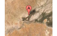 The location of Diamantina rIver