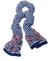 Striped elephant scarf
