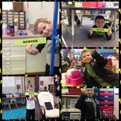 using iPads and PicCollage!