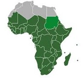 Sub-Saharan Africa is the most infected region with AIDS