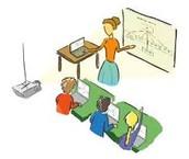 המורה כמכוונת ומדריכה, מסייעת לתלמידים בלמידה