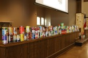 Canned good donations - Souper Bowl Friday