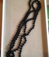 Jet Faceted Necklace - Black $29.50