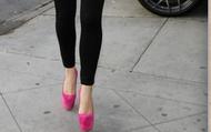 Pink Daffodile Pumps.