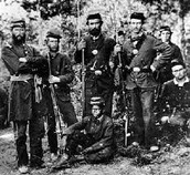 Soldiers fromthe 8th NY state militia