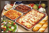 we cater italian food to your parties or other events