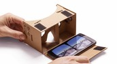 Google Cardboard Phone not included.