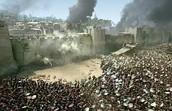 הצלבנים מטילים מצור על ירושלים