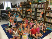 """Pre-K is """"falling in love"""" with the library!"""