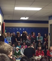 Caroling for students!!