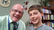 Matthew in Mrs. McPherson's room