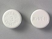 Codeine mixed with Tylenol.