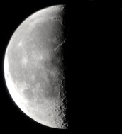 7 - Third Quarter Moon
