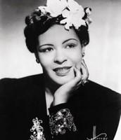 Billie Holiday http://historyoftheharlemrenaissance.weebly.com/musicians.html