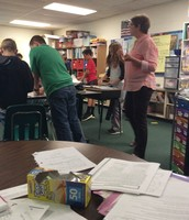 Cooperative learning in Mrs. Ebarb's class