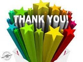 HUGE THANKS!!
