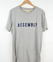 ASSEMBLY VISION FLOCKED TEE
