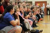 High School Students Taking an Oath