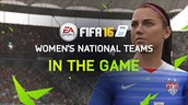 FIFA has added 12 new women's teams for the first time ever