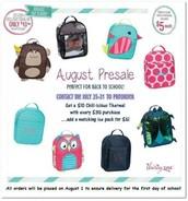 August Pre-Sale!