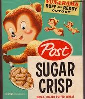 Sugar Crisp in the 1950's