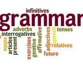 Grammar concepts covered