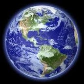 What earth looks like o the outside