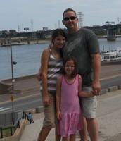 Me, Emily, Dad,