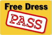 STAFF FREE DRESS!