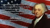 John Adams Infographic
