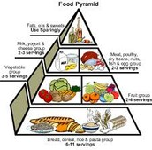 How many servings from each food group do we need each day?