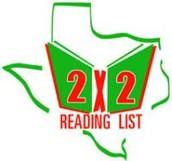 2 x 2 List  (Pre K-2 Readers)