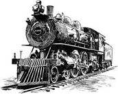 This was one of the first steam engines and it was very important to society back then because it allowed for a very easy transport of goods.